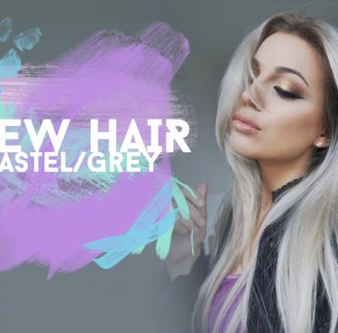 New hair – silver/grey
