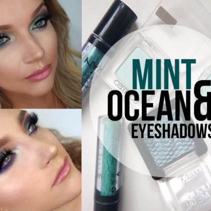 Mint & Ocean eyeshadows