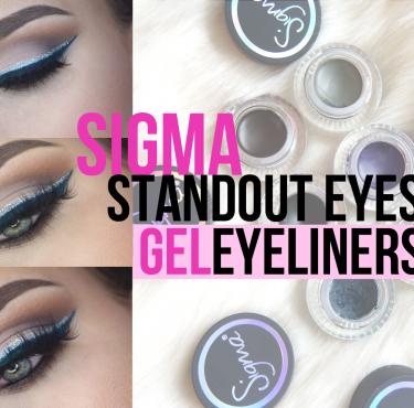 Sigma Standout eyes Eyeliners