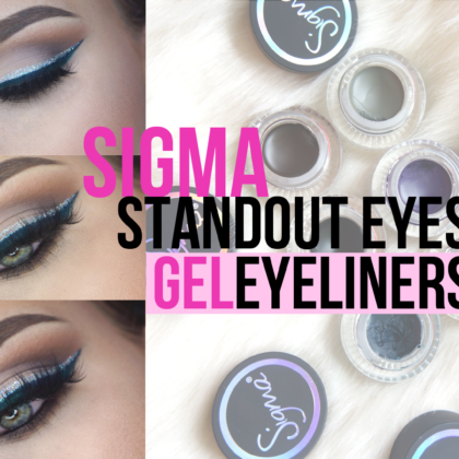 Sigma Standout eyes Eyeliners