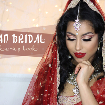 Indian/Asian Bridal look (Siya Jewels)