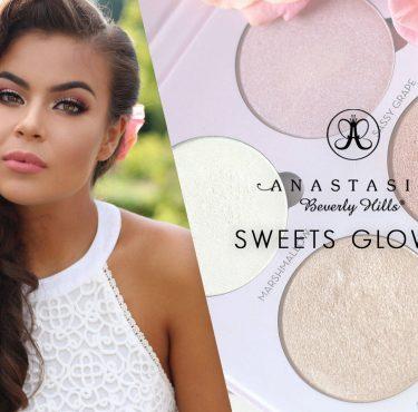 ABH Sweets glowkit & make-up look