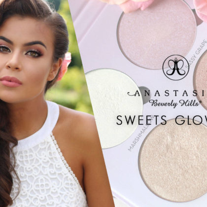 ABH Sweets glowkit & make-up look